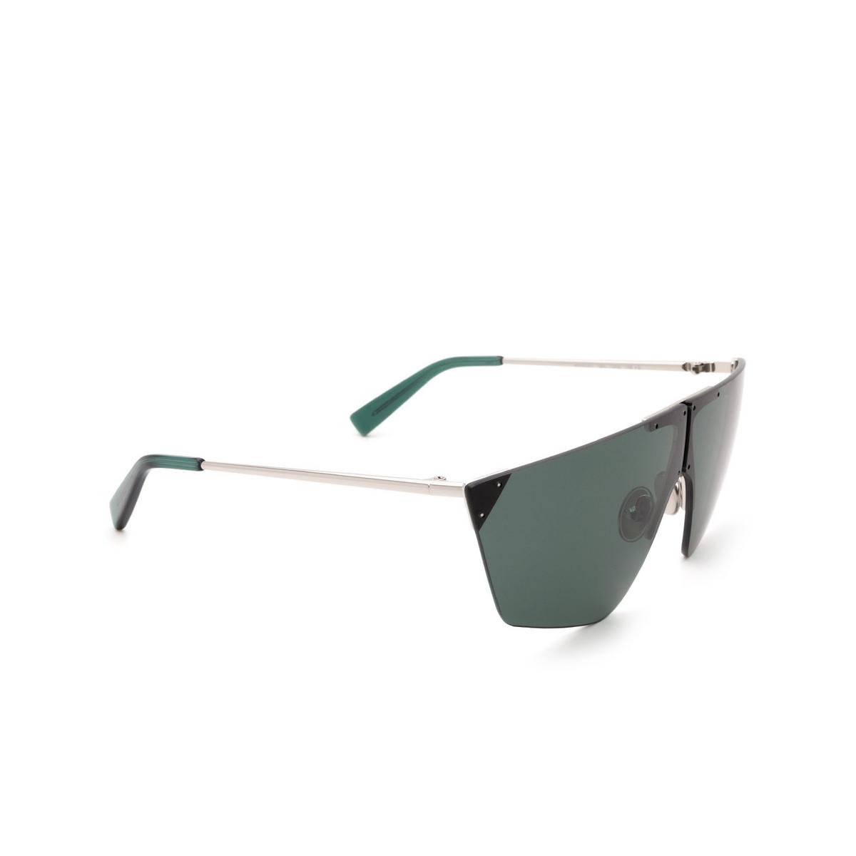 Sportmax® Mask Sunglasses: SM0031 color Grey 16N - three-quarters view.