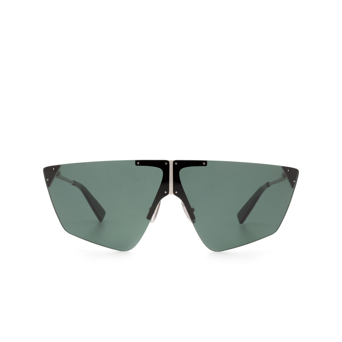Sportmax® Mask Sunglasses: SM0031 color Grey 16N - front view.
