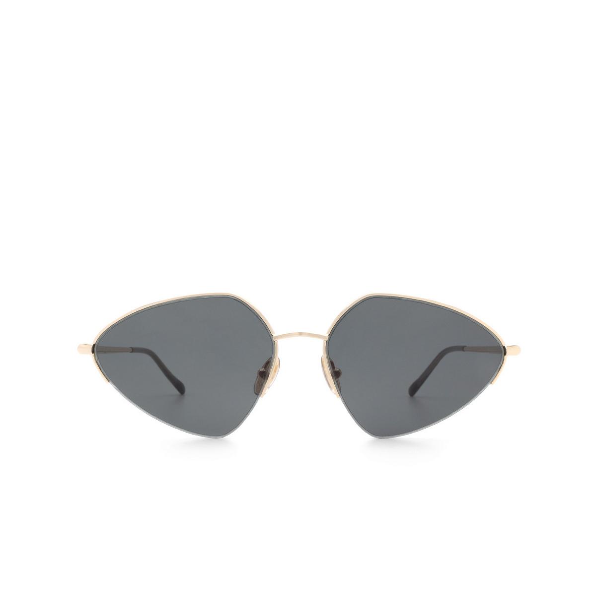 Sportmax® Irregular Sunglasses: SM0032 color Rose Gold 28A.