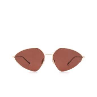Sportmax® Irregular Sunglasses: SM0032 color Rose Gold 28S.