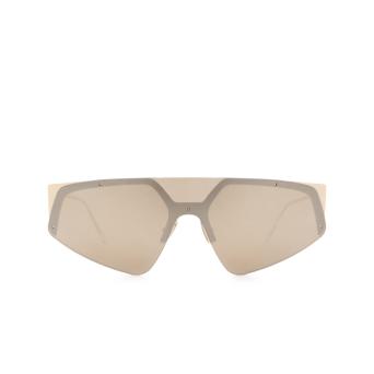 Sportmax® Mask Sunglasses: SM0034 color Gold 32G.