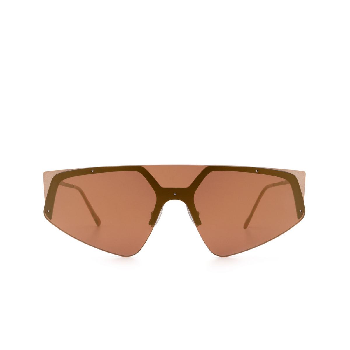 Sportmax® Mask Sunglasses: SM0034 color Bronze 38U - front view.