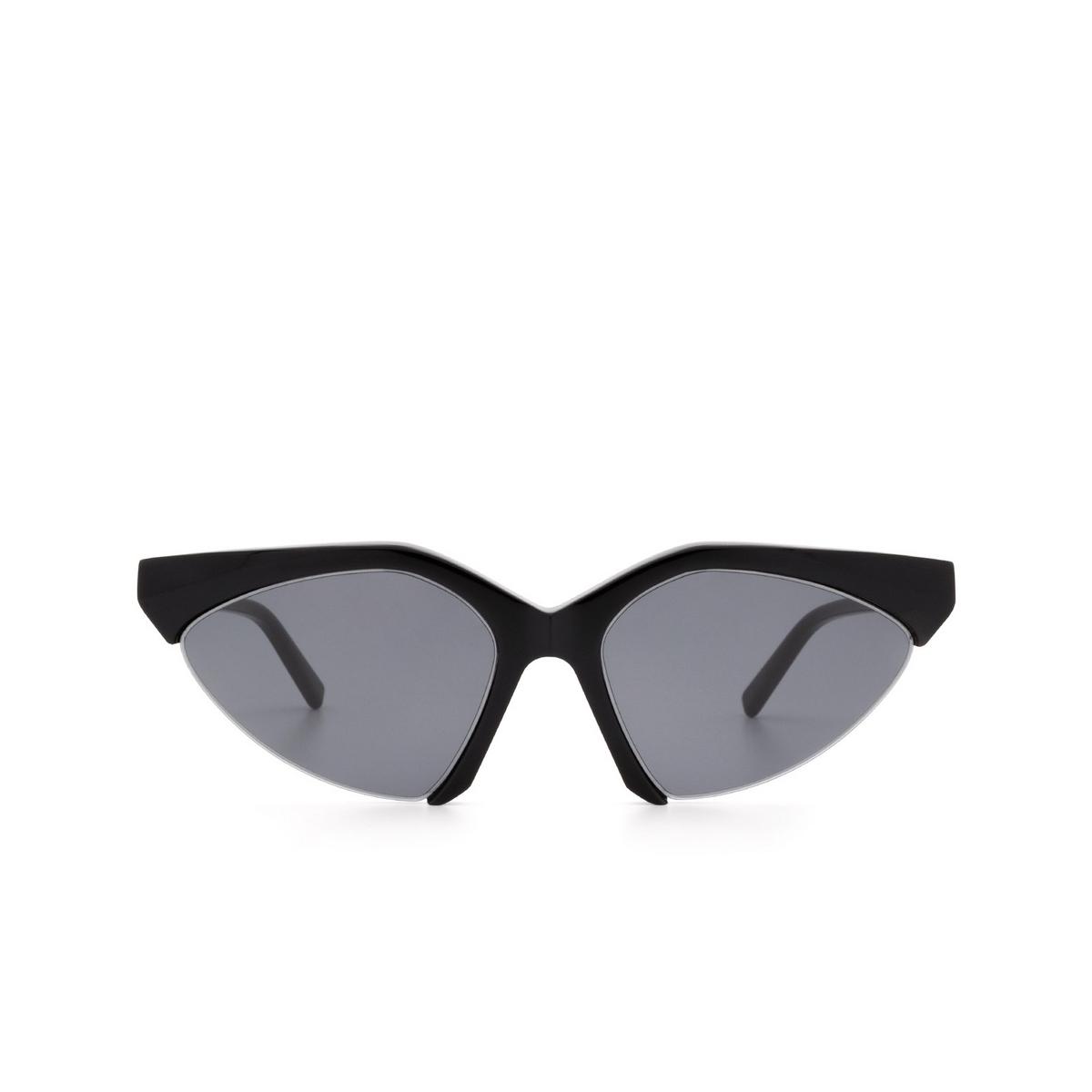 Sportmax® Irregular Sunglasses: SM0035 color Black 01A.