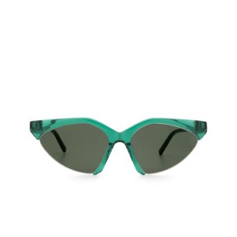 Sportmax® Irregular Sunglasses: SM0035 color Dark Green 98Q.