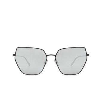 Sportmax® Irregular Sunglasses: SM0036 color Black 01C.
