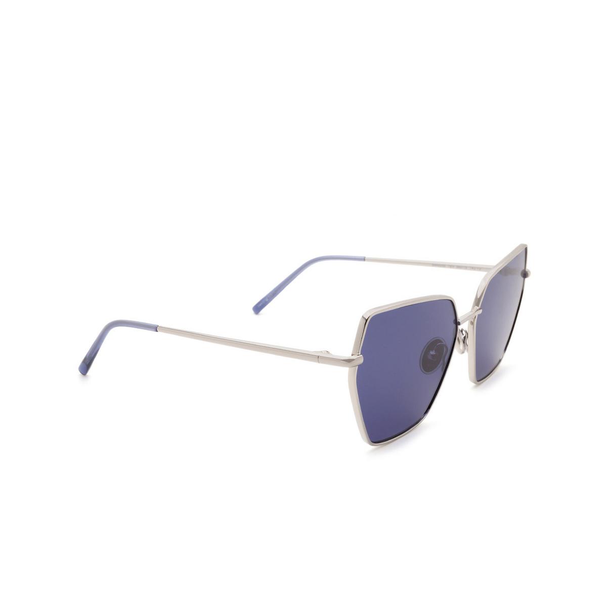 Sportmax® Irregular Sunglasses: SM0036 color Grey 16V.