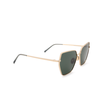 Sportmax® Irregular Sunglasses: SM0036 color Gold 32N.