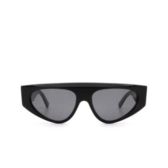 Sportmax® Irregular Sunglasses: SM0037 color Black 01A.