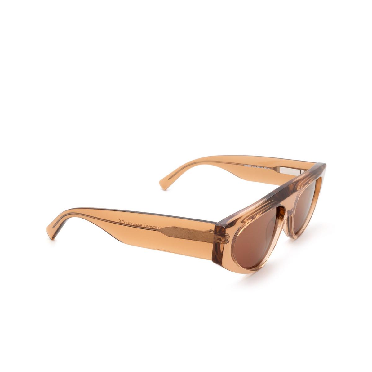 Sportmax® Irregular Sunglasses: SM0037 color Light Brown 47G.