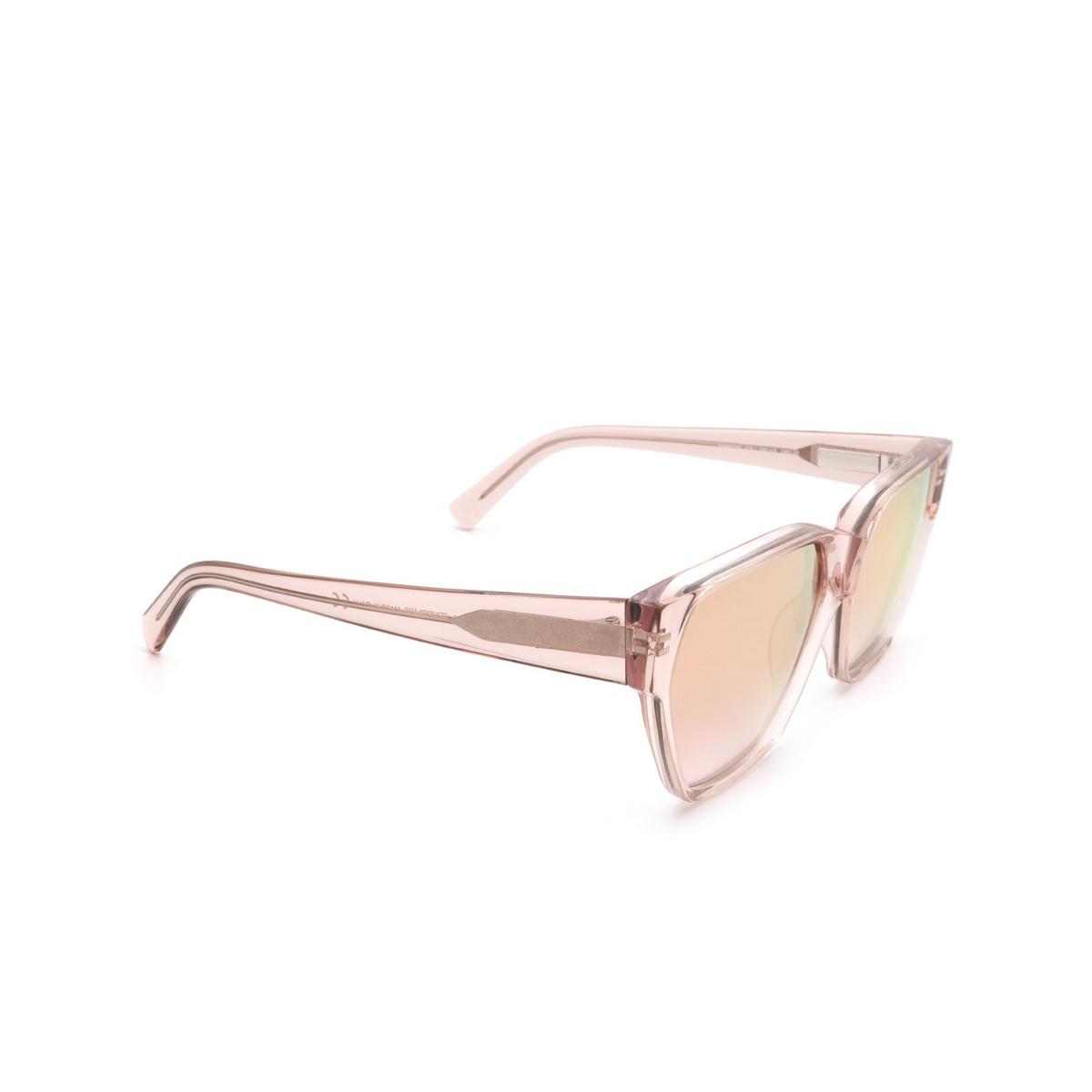 Sportmax® Square Sunglasses: SM0038 color Light Brown 47U.