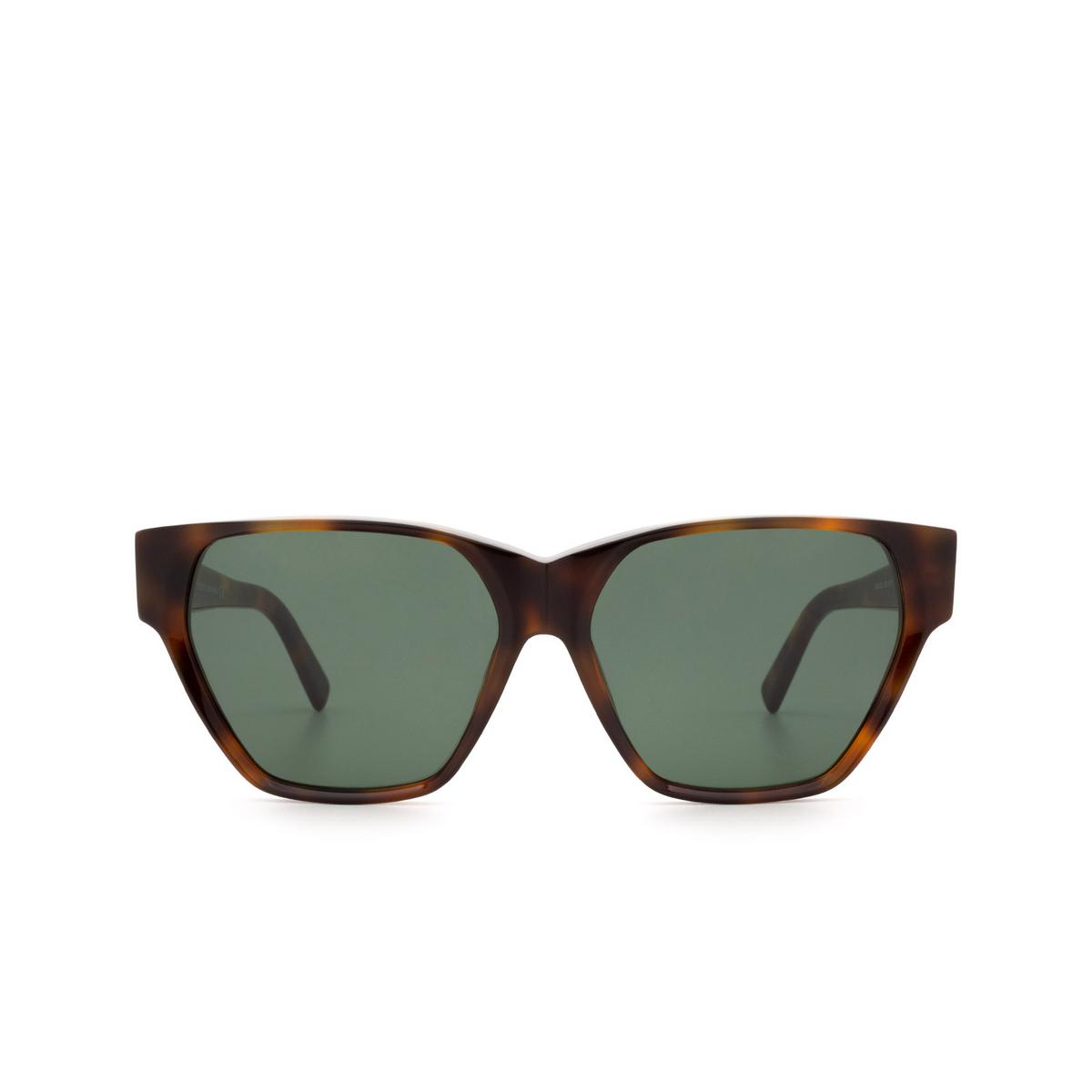 Sportmax® Square Sunglasses: SM0038 color Dark Havana 52N.