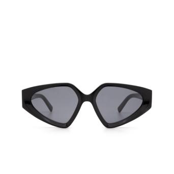Sportmax® Irregular Sunglasses: SM0039 color Black 01A.