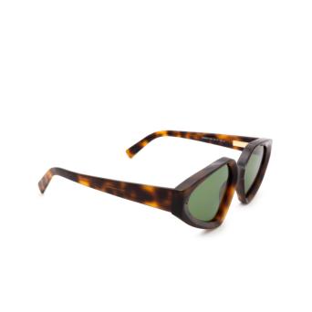 Sportmax® Irregular Sunglasses: SM0039 color Dark Havana 52N.