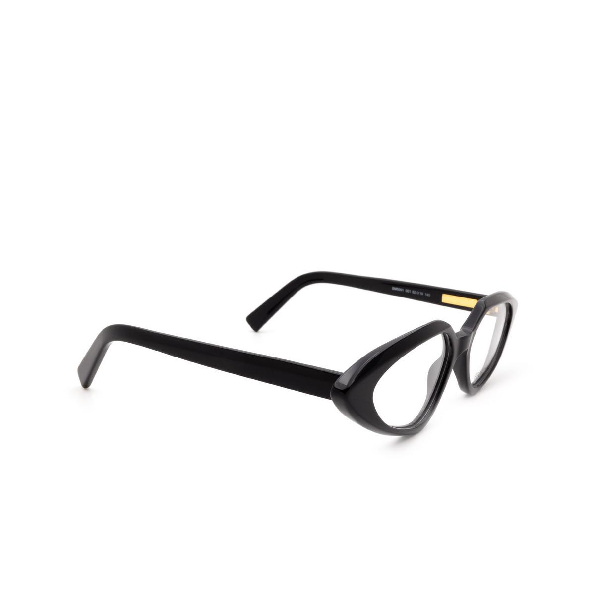 Sportmax® Irregular Eyeglasses: SM5001 color Black 001.