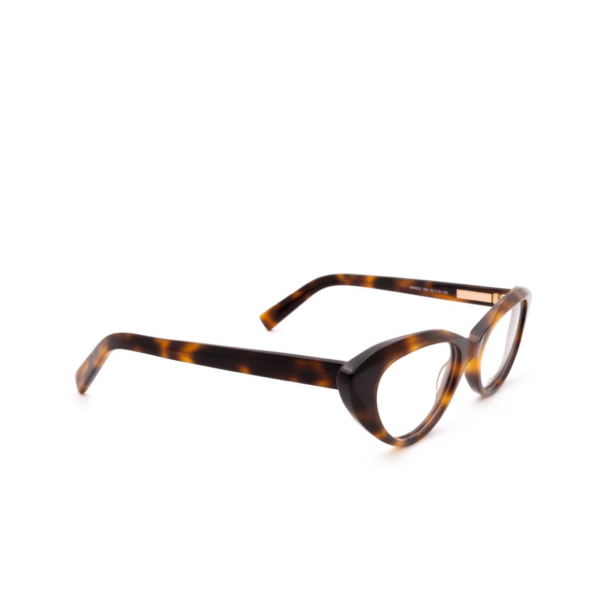 Sportmax® Cat-eye Eyeglasses: SM5002 color Dark Havana 052.