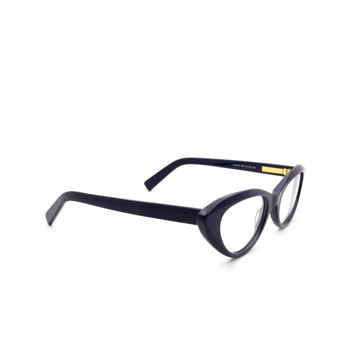 Sportmax® Cat-eye Eyeglasses: SM5002 color Blue 090.