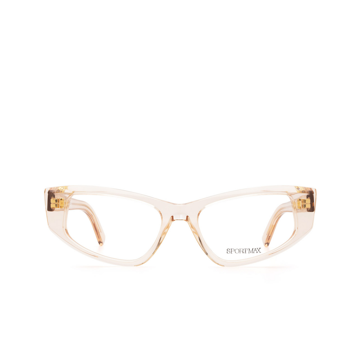 Sportmax® Cat-eye Eyeglasses: SM5003 color Champagne 090.
