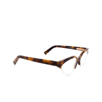 Sportmax® Irregular Eyeglasses: SM5004 color Dark Havana 052.