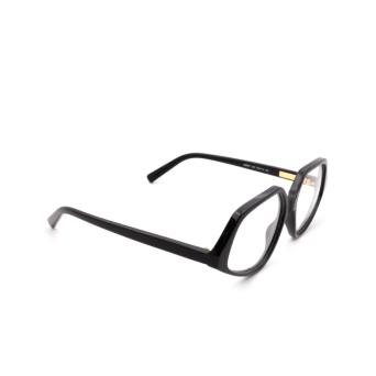 Sportmax® Square Eyeglasses: SM5011 color Black 001.