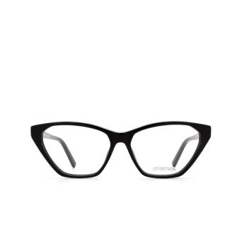 Sportmax® Butterfly Eyeglasses: SM5012 color Black 001.