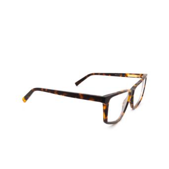 Sportmax® Irregular Eyeglasses: SM5015 color Dark Havana 052.