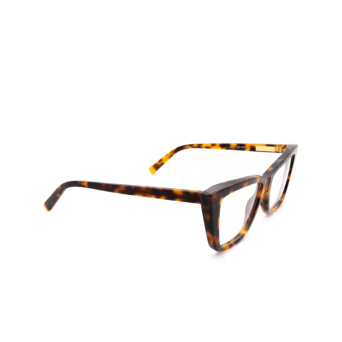 Sportmax® Irregular Eyeglasses: SM5017 color Dark Havana 052.