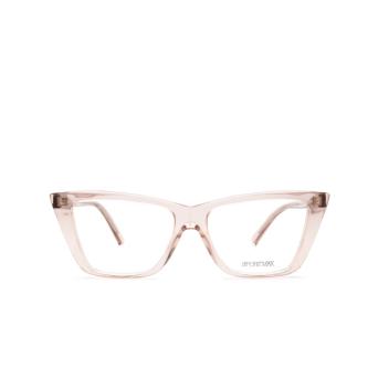 Sportmax® Irregular Eyeglasses: SM5017 color Pink 072.