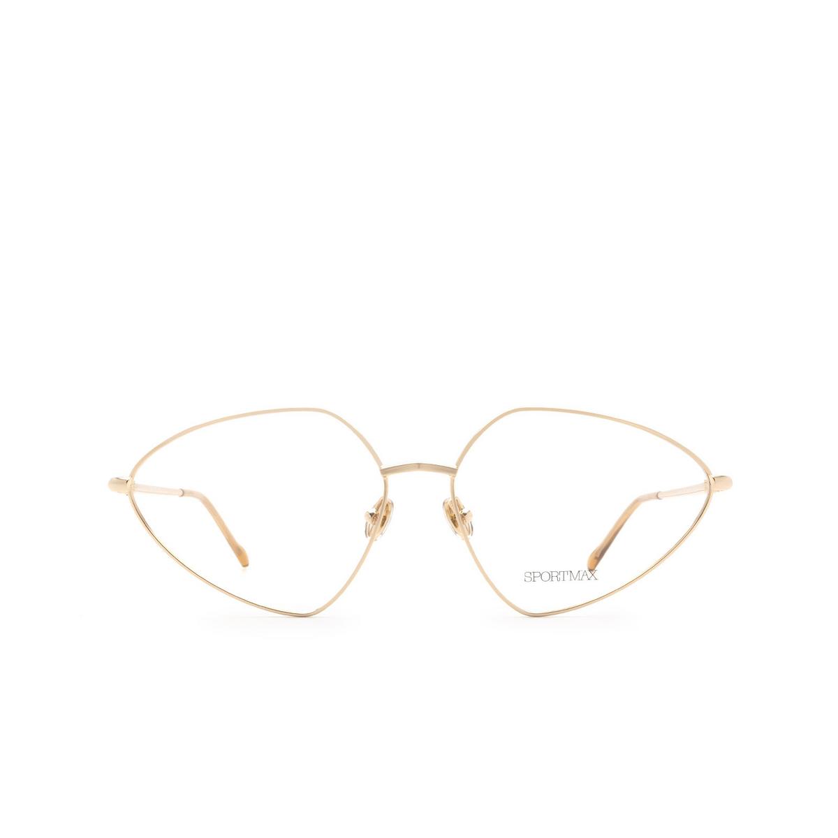 Sportmax® Irregular Eyeglasses: SM5019 color Rose Gold 028.