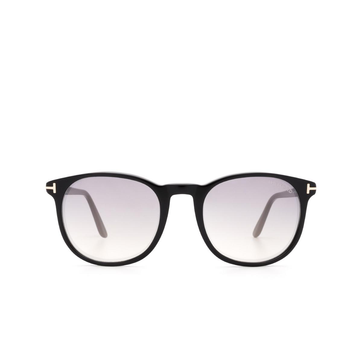 Tom Ford® Square Sunglasses: Ansel FT0858 color Black 01C.