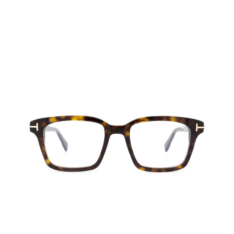Tom Ford® Square Eyeglasses: FT5661-B color Dark Havana 052.