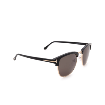 Tom Ford® Square Sunglasses: Henry FT0248 color Black 05N.