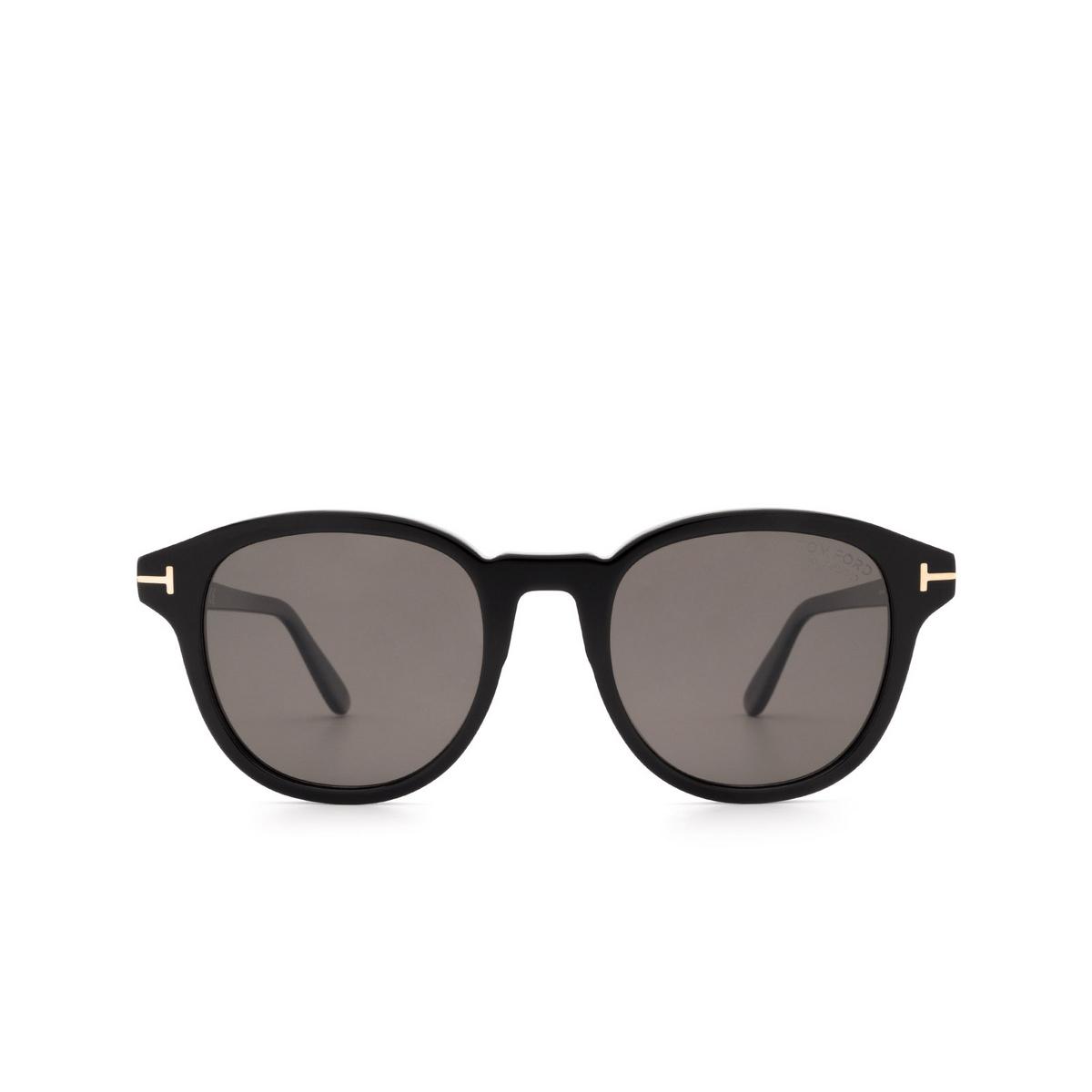 Tom Ford® Square Sunglasses: Jameson FT0752 color Black 01D.