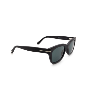Tom Ford® Square Sunglasses: Snowdon FT0237 color Black 05V.