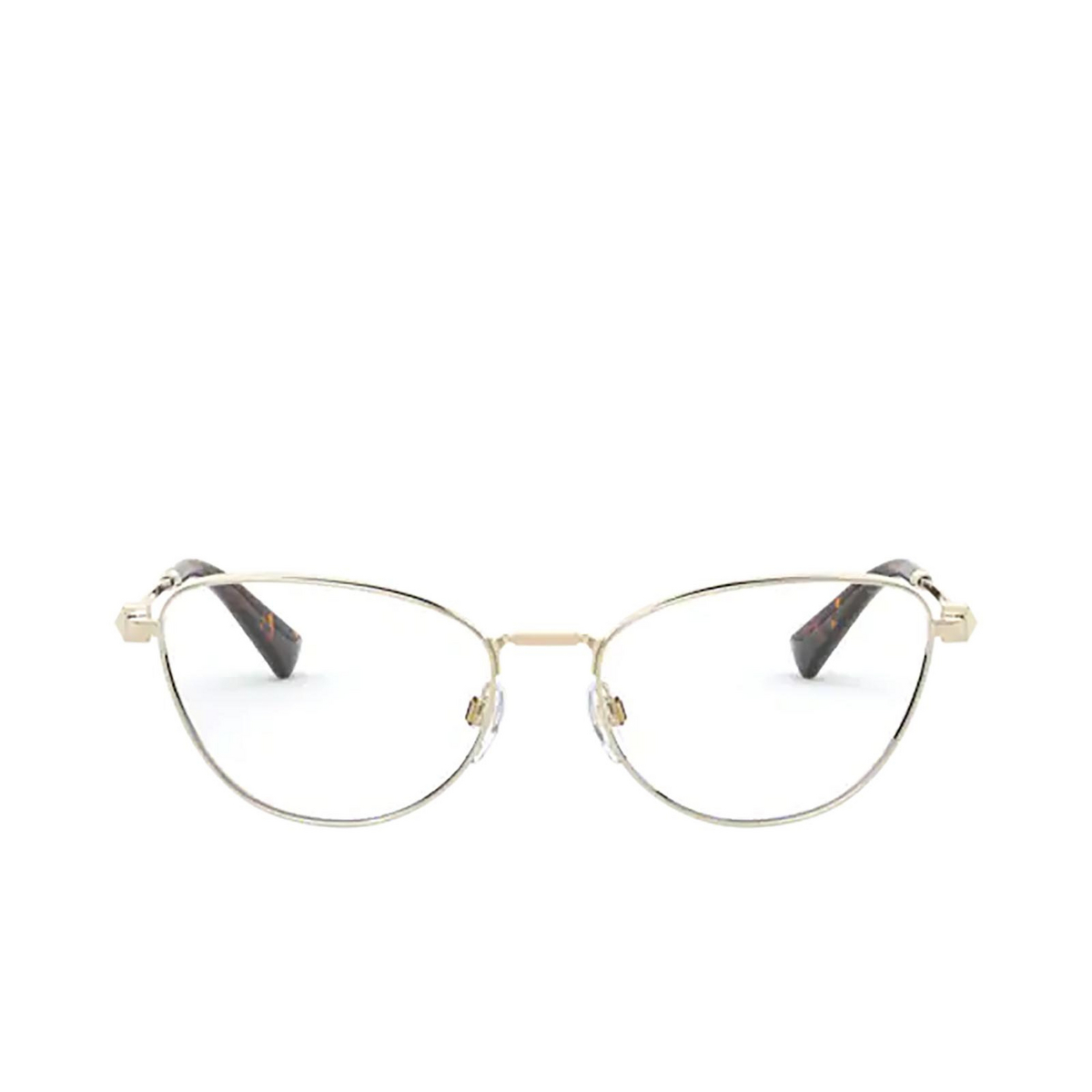 Valentino® Cat-eye Eyeglasses: VA1016 color Pale Gold 3003 - front view.