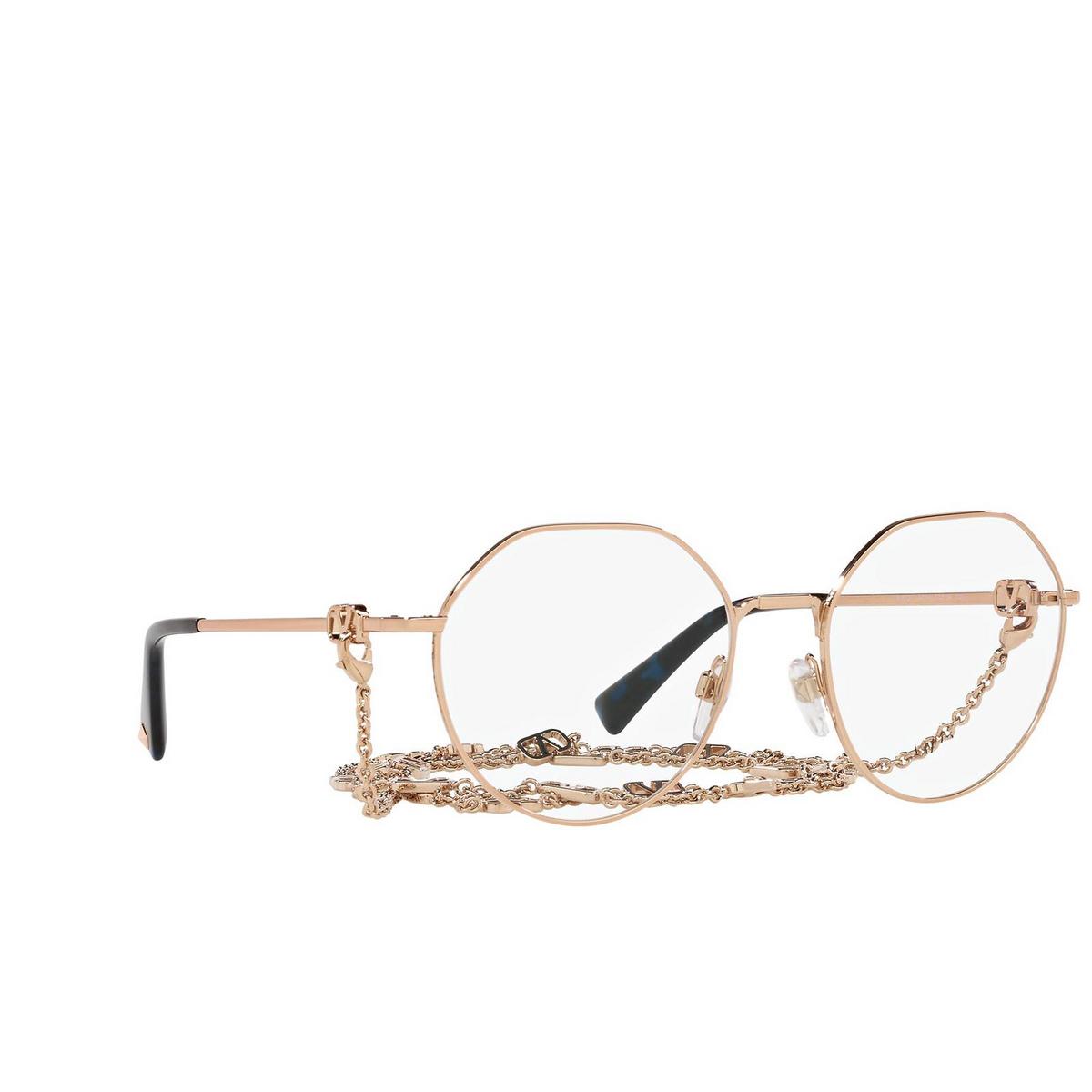 Valentino® Irregular Eyeglasses: VA1021 color Rose Gold 3004.