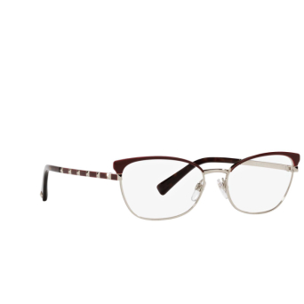 Valentino® Cat-eye Sunglasses: VA1022 color Pale Gold & Bordeuax 3003.