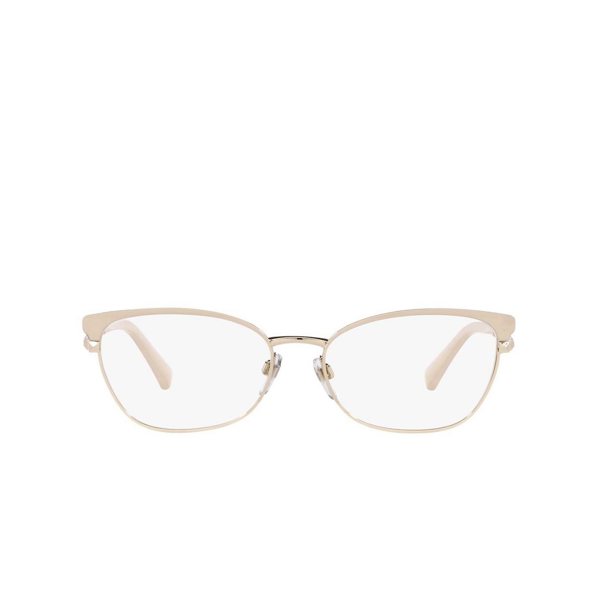 Valentino® Cat-eye Sunglasses: VA1022 color Pale Gold/black 3053.