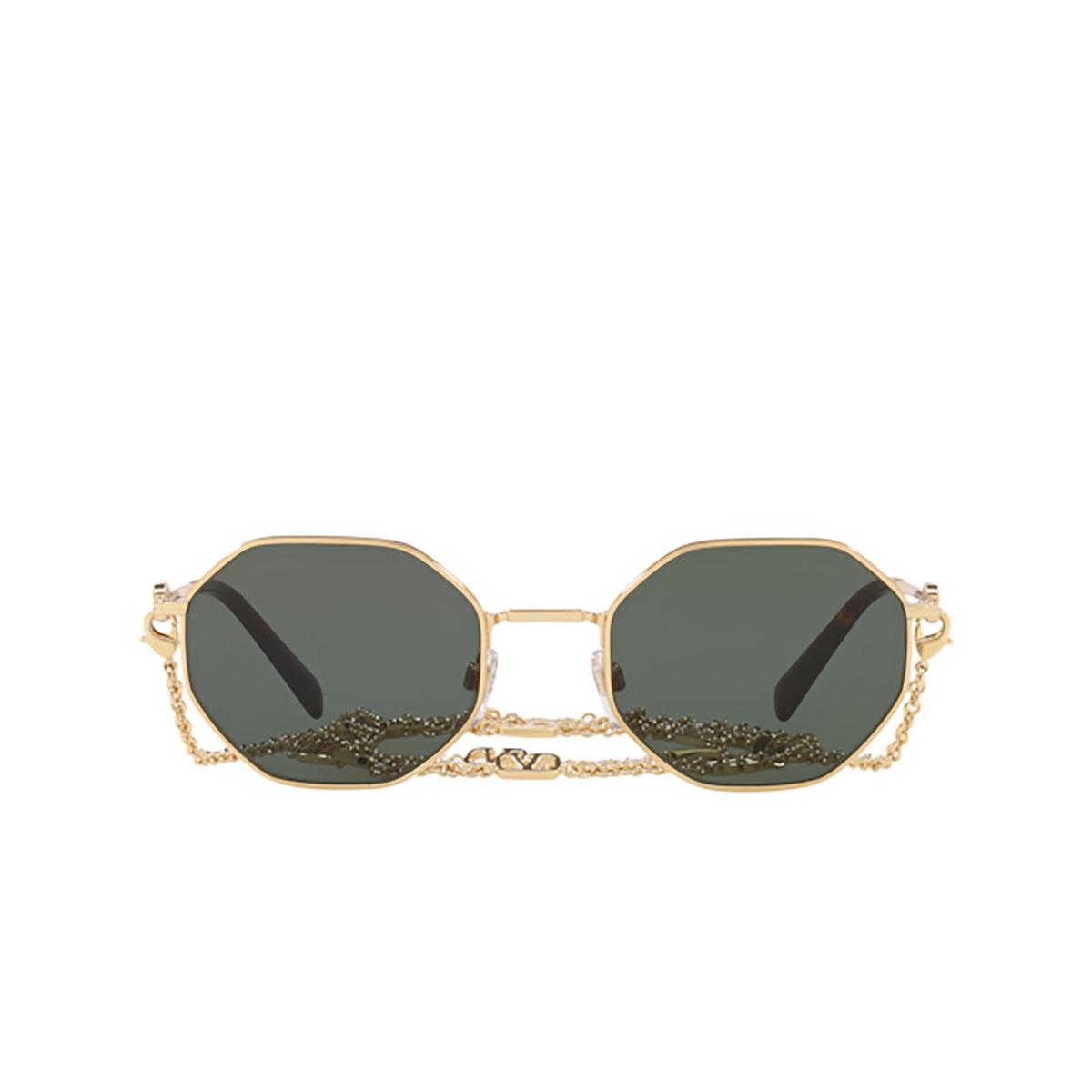 Valentino® Irregular Sunglasses: VA2040 color Gold 300271.