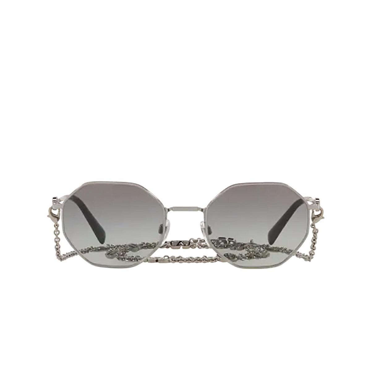Valentino® Irregular Sunglasses: VA2040 color Gunmetal 300511 - front view.