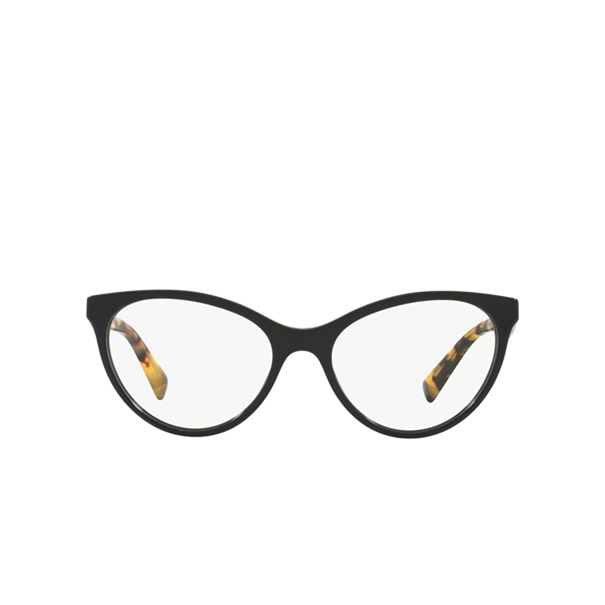 Valentino® Cat-eye Eyeglasses: VA3013 color Black 5001 - front view.