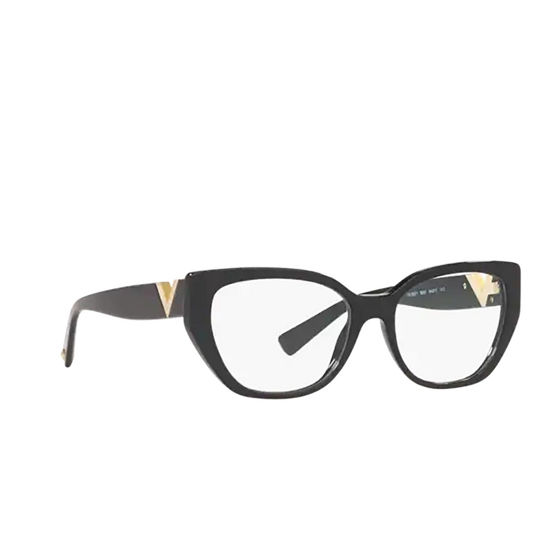 Valentino® Irregular Eyeglasses: VA3037 color Black 5001.