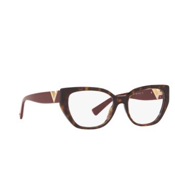 Valentino® Irregular Eyeglasses: VA3037 color Havana 5002.