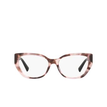Valentino® Irregular Eyeglasses: VA3037 color Pink Havana 5067.