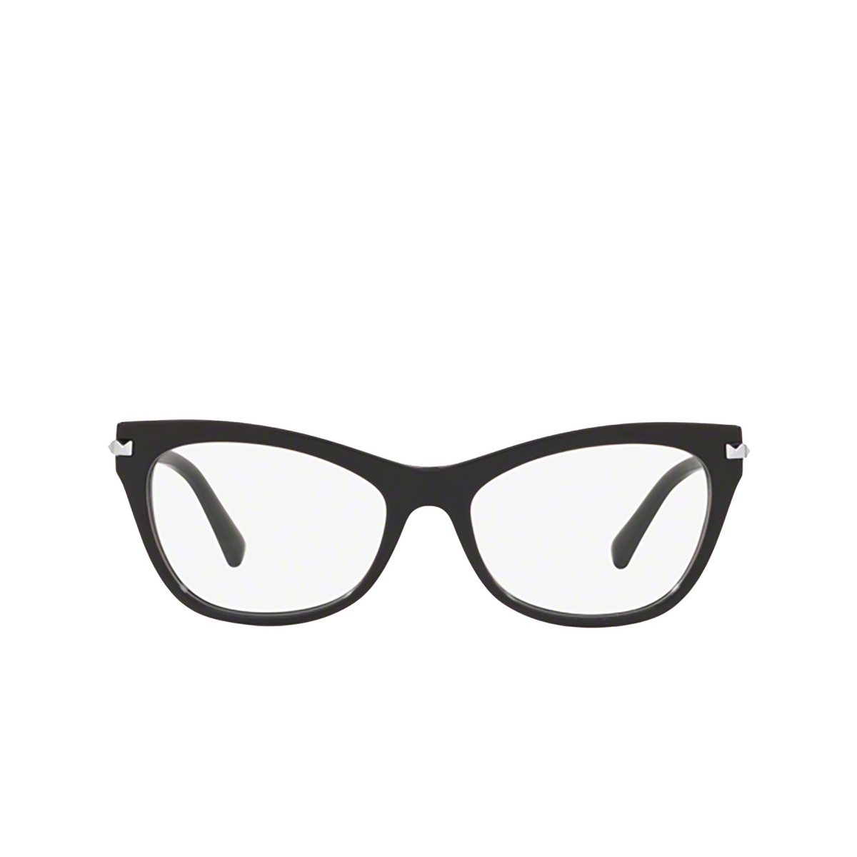 Valentino® Cat-eye Eyeglasses: VA3041 color Black 5001 - front view.