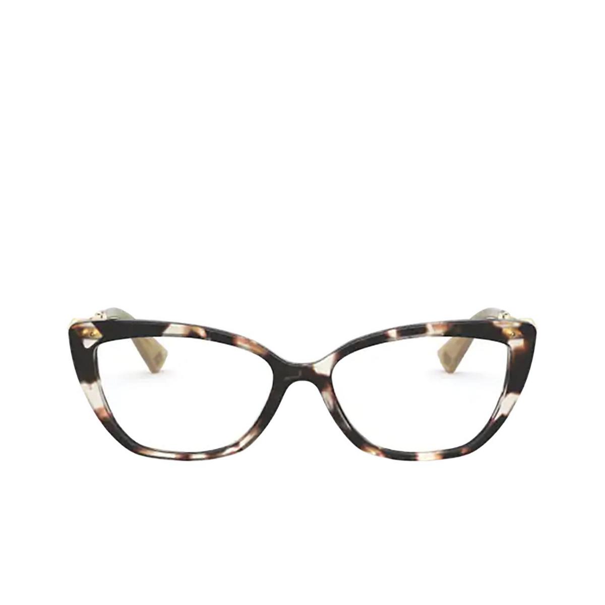 Valentino® Cat-eye Eyeglasses: VA3045 color Havana Brown 5097.