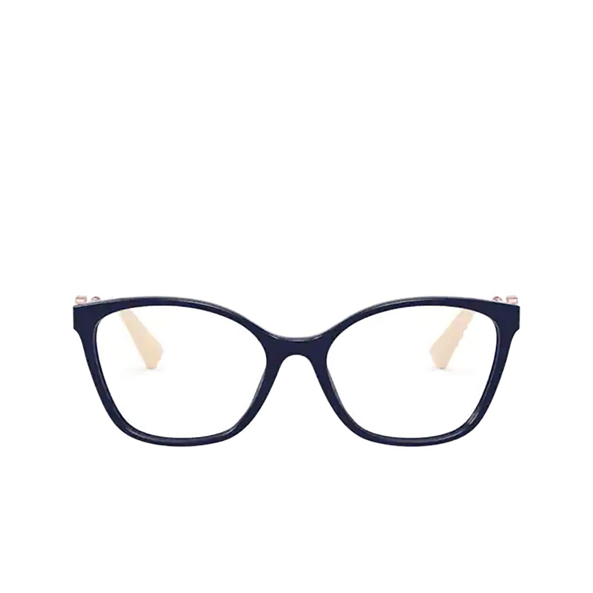 Valentino® Butterfly Eyeglasses: VA3050 color Blue 5034 - front view.