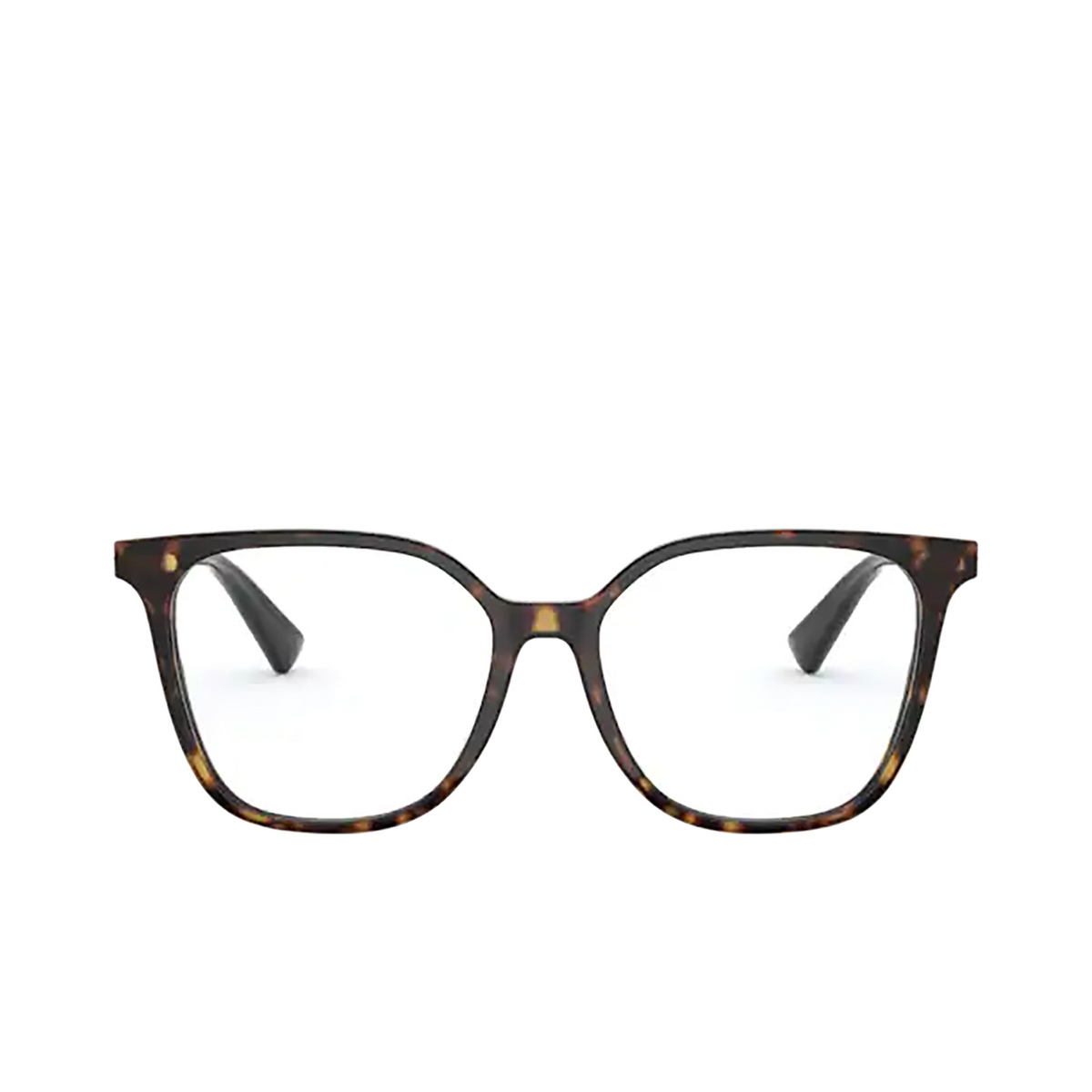 Valentino® Square Eyeglasses: VA3055 color Havana 5002 - front view.