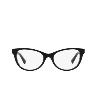 Valentino® Oval Eyeglasses: VA3057 color Black 5001.