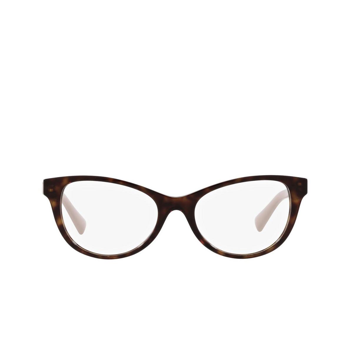 Valentino® Oval Eyeglasses: VA3057 color Havana 5002.