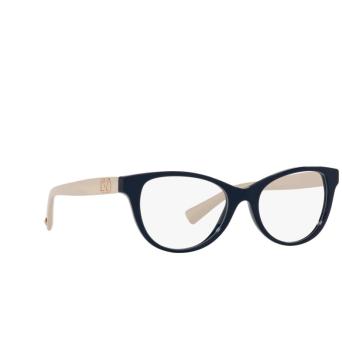 Valentino® Oval Eyeglasses: VA3057 color Blue 5034.